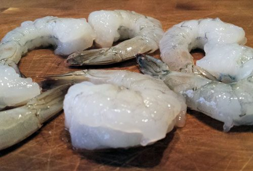 Fresh, Raw Peeled Prawns. Fresh Fish Delivery in Doncaster