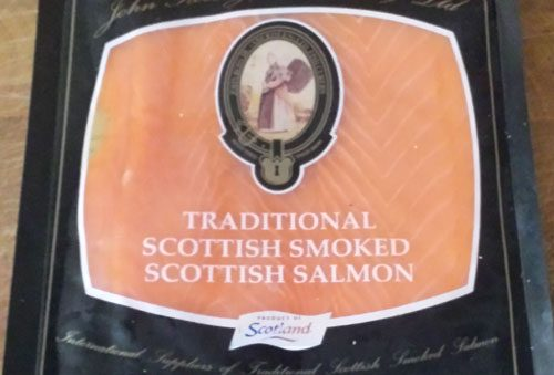 Cold Smoked Salmon Slices, Fresh Fish Delivery Service Doncaster